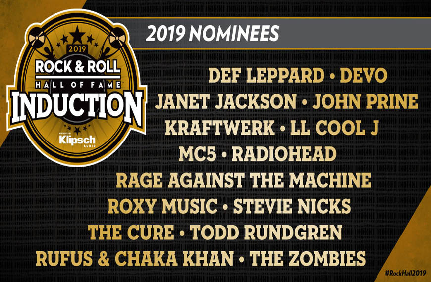 Photo of The 2019 Rock and Roll Hall of Fame Nominees
