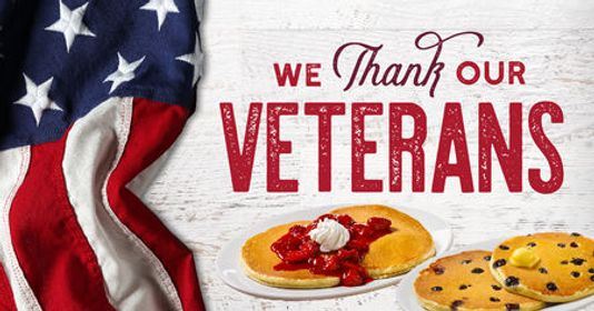 Photo of FOOD FREEBIES FOR VETERANS DAY!