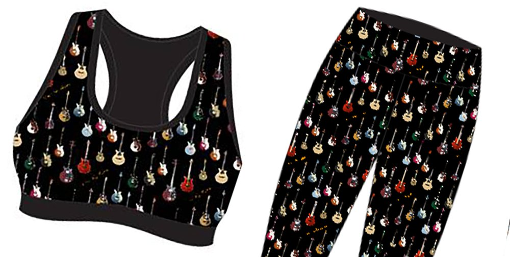Photo of Sorry, Ladies: Brian May's Guitar Pattern Sports Bras Are Sold Out :(