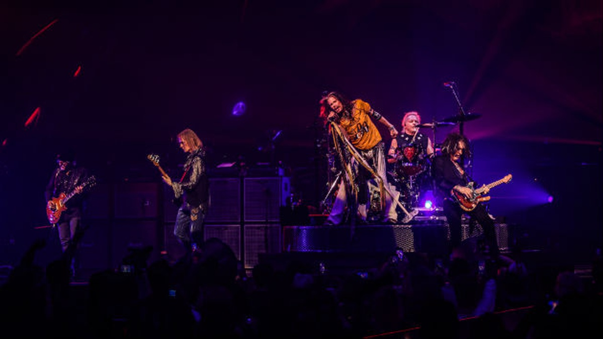 Photo of Aerosmith among stars featured in ad for new Las Vegas slogan
